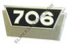 ER- 381554R1 706 Gas Side Emblem