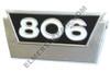 ER- 381557R1 IH 806 Gas Side Emblem