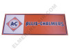 AC006-MBAN  Allis Chalmers Diamond Mini Banner (Blue Long A & S)