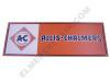 AC006-MBAN  Allis Chalmers Diamond Mini Banner (Blue Long A & S)