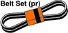 ER- 90-1375T1  Alternator Belt Set (1 Pair)