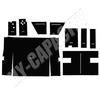 ER- C86 Cab Interior Kit without Headliner - Black