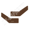 ER- C86DPB Cab Interior Door Panel Kit - Brown