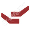 ER- C86DPR Cab Interior Door Panel Kit - Red