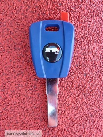 Fiat 500 Transponder Chip Key - Clonable