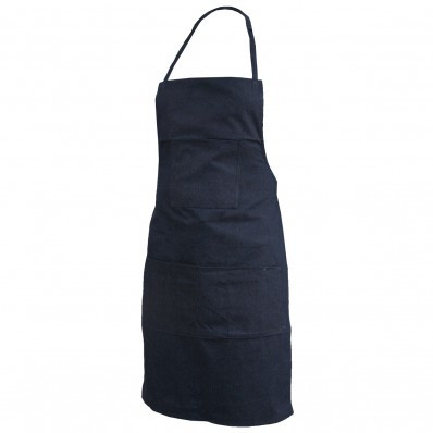 Blue Denim & Cloth Apron (One Size) | Safetyapparel.ca