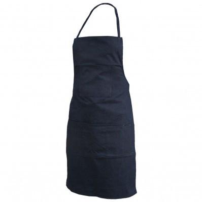 Blue Denim & Cloth Apron (One Size) | Safetyapparel.ca