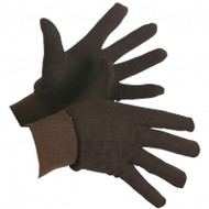 Brown Jersey Knitwrist Gloves | Safetyapparel.ca