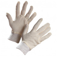 Ladies' Interlock Jersey Inspector's Gloves (Knitwrist) | Safetyapparel.ca
