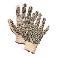 Poly-Knit PVC Dotted Grip Gloves (2 Sides)