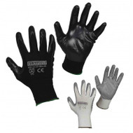 Nitrile Foam Nylon Gloves | Safetyapparel.ca
