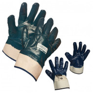 ForceField Fully-Coated Nitrile Gloves With Safety Cuff | Safetyapparel.ca