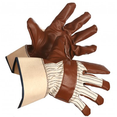 Lato-Tuf Nitrile Gloves With Safety Cuff | Safetyapparel.ca