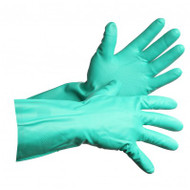 Lato-Gard Flocked Nitrile Gloves | Safetyapparel.ca
