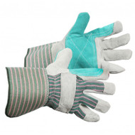 Double Leather Palm Gloves With Full Finger Tips & 5-Inch Safety Cuffs | Safetyapparel.ca
