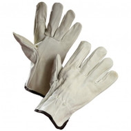 Pigskin Leather Driver's Gloves With Elastic Wrist | Safetyapparel.ca