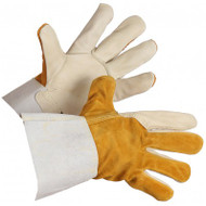 Grain Cowhide Kevlar Sewn Unlined Welding Gloves | Safetyapparel.ca