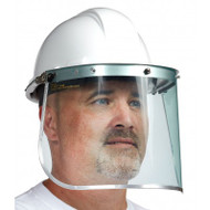 Polycarbonate Visor With Aluminum Binding | Safetyapparel.ca