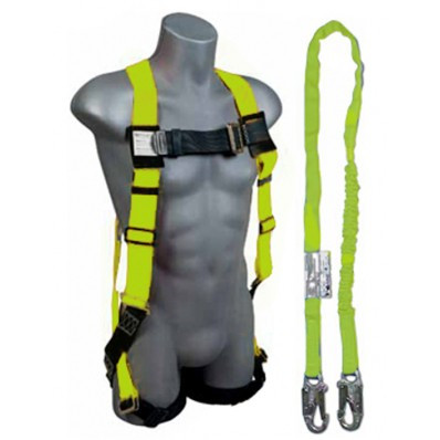 Harness & Lanyard With Mesh Carrying Bag | Safetyapparel.ca
