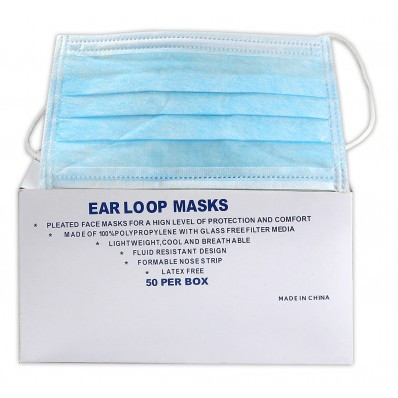 Earloop Procedure Face Mask | Safetyapparel.ca