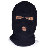 Knitted Acrylic Three-Opening Balaclava | Safetyapparel.ca