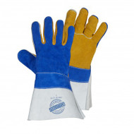 Premium Deer Split Leather Welding Glove With Cuffs | Safetyapparel.ca