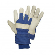 Turtle Neck Premium Grade Split Leather Gloves | Safetyapparel.ca