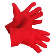 Red Polar Fleece-Lined Gloves | Safetyapparel.ca
