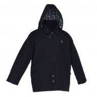 Black Canvas Executive Parka | Safetyapparel.ca