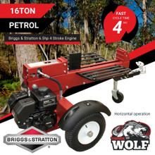Timberwolf 16T Log Splitter Briggs and Stratton Engine