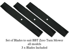 Zero Turn Mower Blade SET