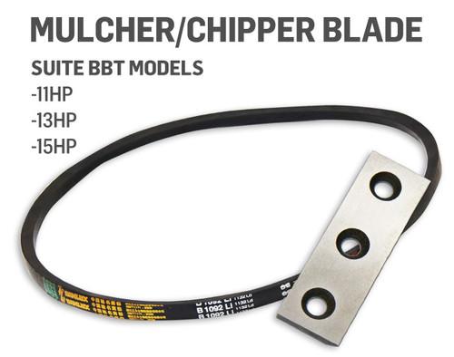 BBT Mulcher Belt & HSS Blade