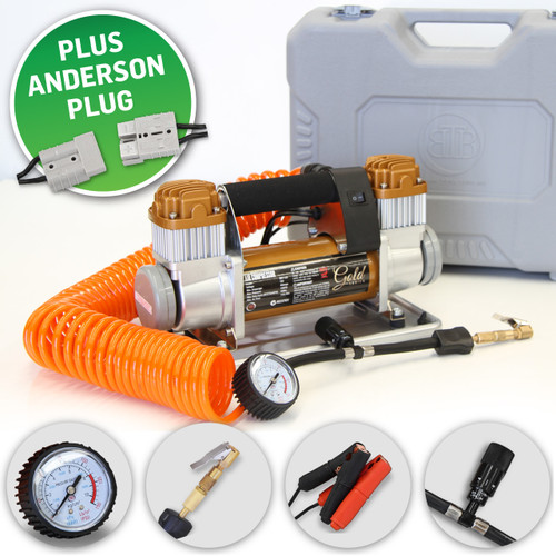 Gold Series Air Compressor with Anderson Plug