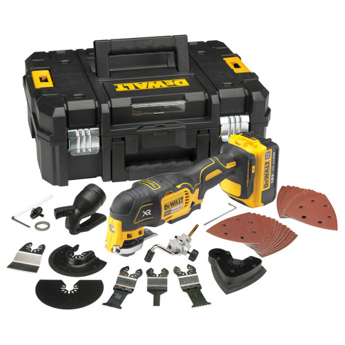 DeWalt  Cordless Brushless Multi Tool Acessories Kit