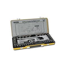 Stanley Socket Set 43pce Metric