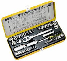 Stanley Socket Set 37pce Metric