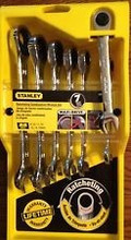 Stanley 94-543 7-Piece Ratcheting Wrench Set Metric