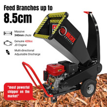 BBT 9000 Series Chipper Mulcher with Electric Start