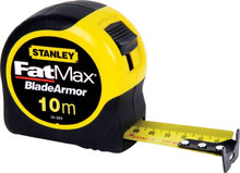 StanleyåÎå Fatmax 10m Metric Measuring Tape - 33-829