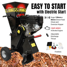 BBT 15/20HP Electric Start Mulcher Chipper