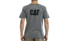 CAT Trademark Tee - Dark Heather Grey