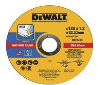 DeWalt 125mm x 1.2 x 22.23mm Thin Cut High Performance Bonded Disc 10pk DT43922-QZ