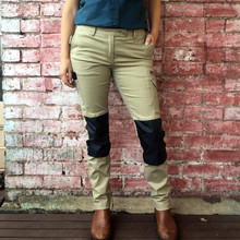 Pants SKNY Flex 'Every Woman Utility' (Khaki) - Women's Workwear