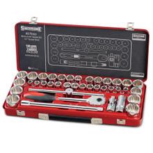 "Sidchrome SCMT14105 40pce 1/2"" Drive Metric & Imperial Socket Set"