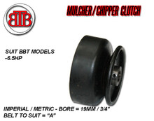 Mulcher Clutch 6.5hp