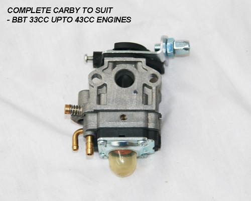 BBT 33cc Carby