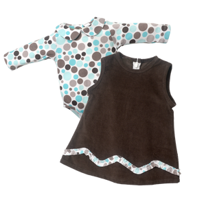 Ruffle Jumper Set - Dot Land