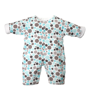 Quilted Coverall - Dot Land