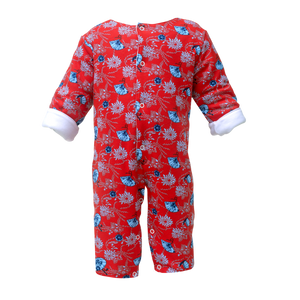 Quilted Coverall- Festive Joy