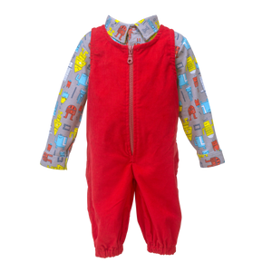 Overall & Shirt Set  - Boys N Toys